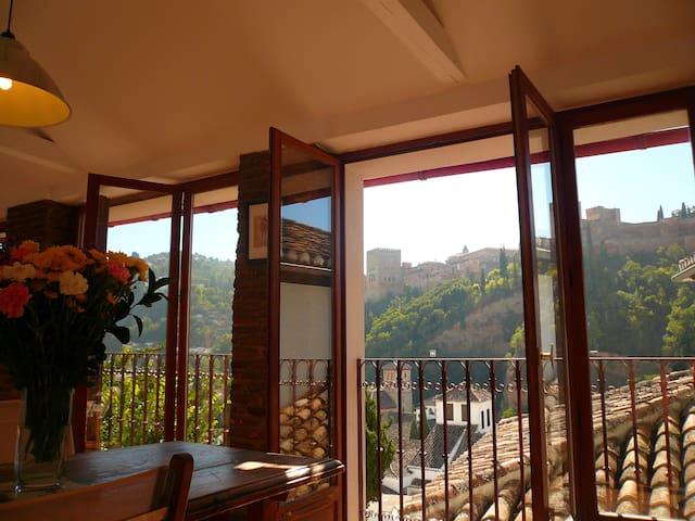 Duplex Albaicin Alhambra Views