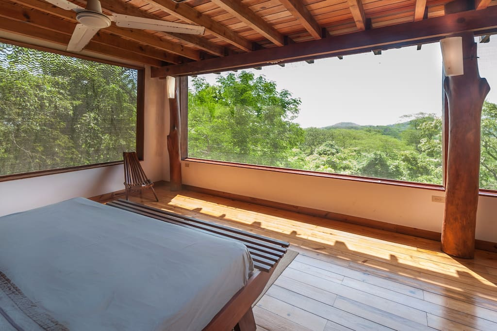 Your view from the master suite of Casa Arbol