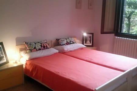 Cozy room near rail and bus station