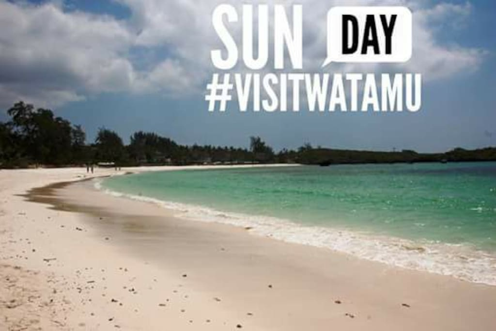 The unspoilt beaches of Watamu