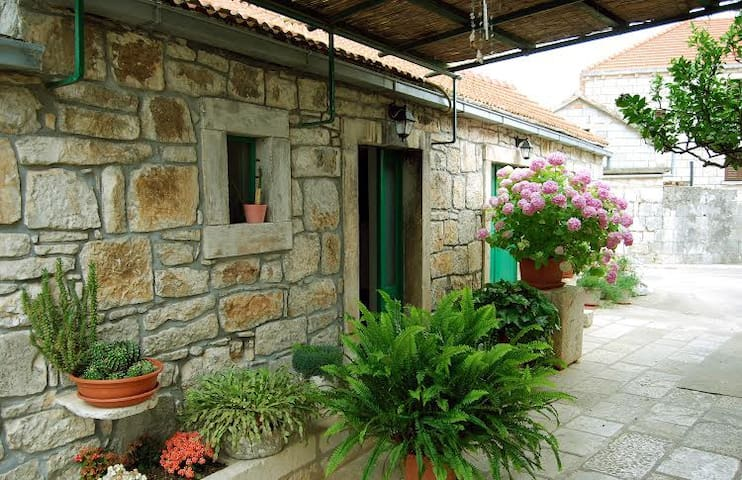 #Airbnb Adriatic stone house for vacation
