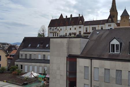 Vue sur le Château! - 纳沙泰尔(Neuchâtel) - 公寓
