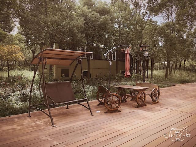 福山寿海生态的唯一元素布置农庄里的房车!无论带朋友、爱人、伙伴来郊游都很新奇噢 - 上海崇明岛 - Casa