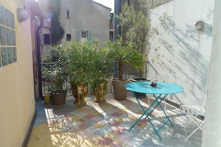 Duplex design terrasse hypercentre