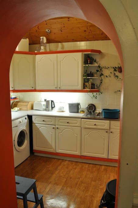 Free use of the kitchen