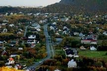 The inner part of Stamsund.