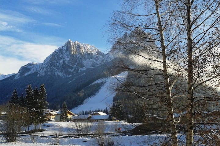As at Home in the Dolomites