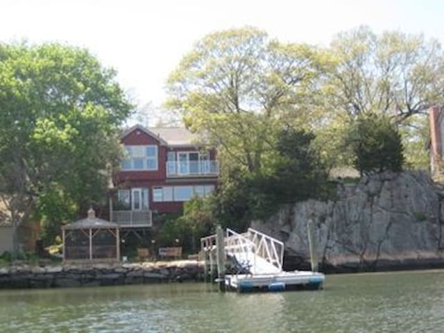 Waterfront Property with Dock - East Haven