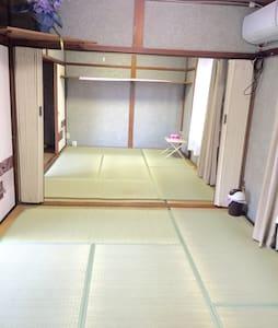 滋贺县近京都kyoto大阪osaka奈良限时优惠单间近车站100米内 - Rumah