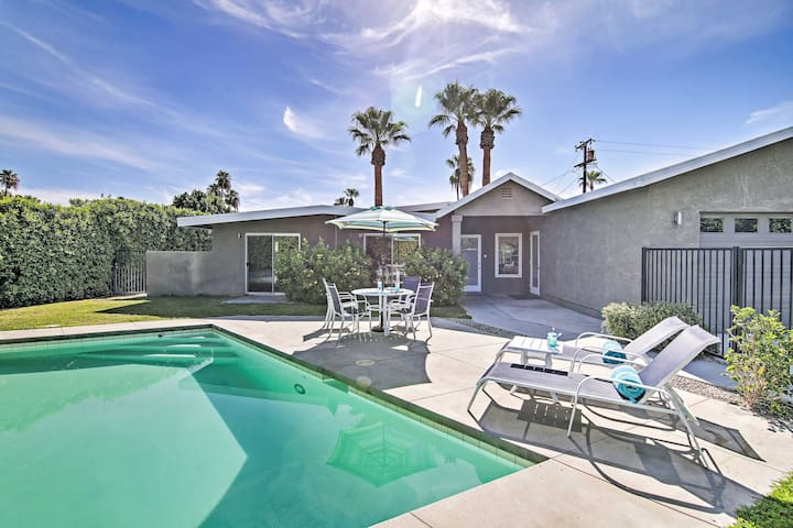 Private Palm Springs Retreat - 3 Mi to Downtown!