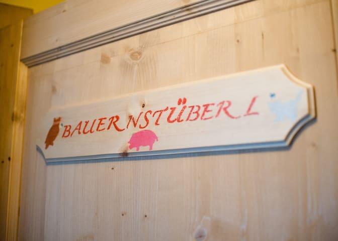 Bauernstüberl im Haus Alpenfrieden - Oberrotte - Apartemen