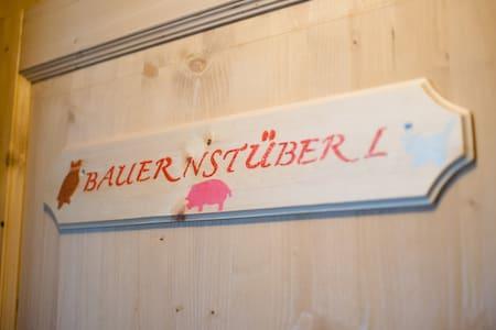 Bauernstüberl im Haus Alpenfrieden - Oberrotte - Pis