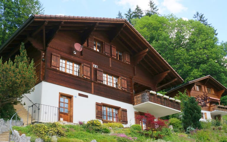 Typical Swiss Chalet - Jaun - Hus