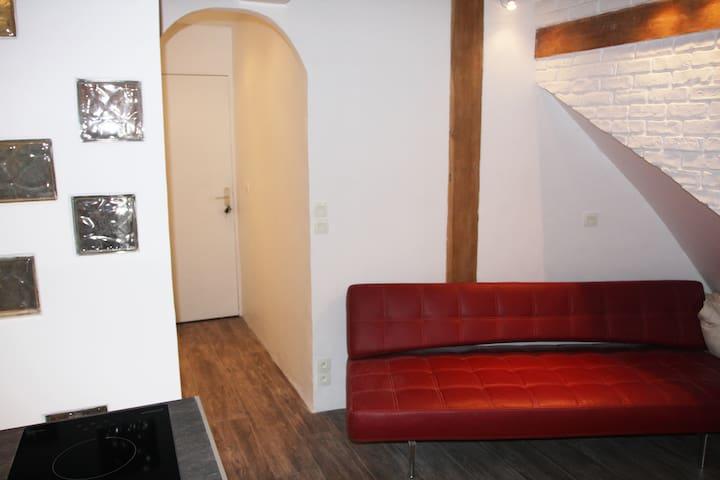 Studio romantique Champs Elysees - Paris - Wohnung