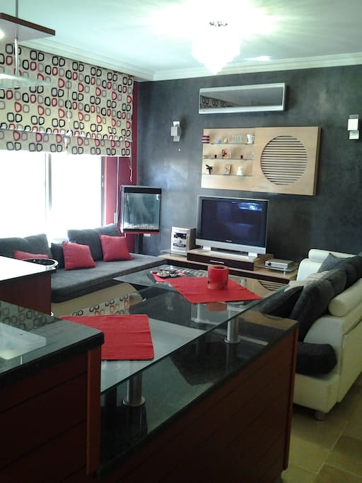 A home to remember at amman jordan apartments for rent for Living room amman