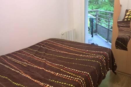 Chambre avec balcon, vue magnifique sur le Rhône - Apartment