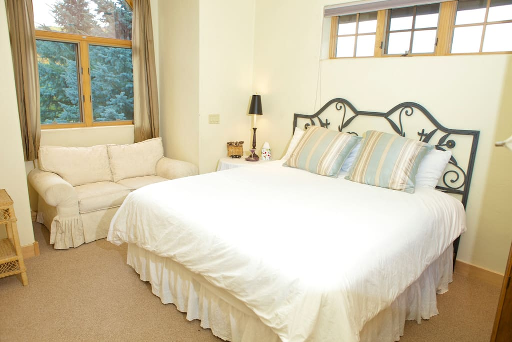 Large bedroom with own full bath
