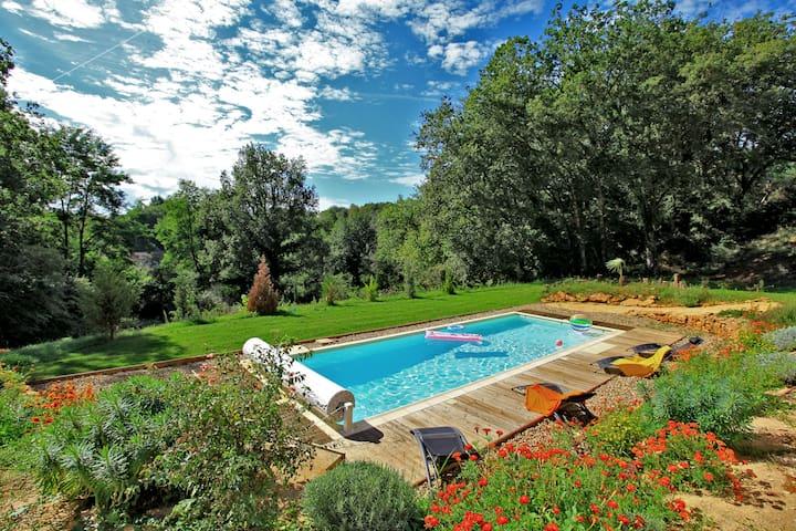 Villa de grand confort, piscine privée, chauffée - Sarlat-la-Canéda - Villa