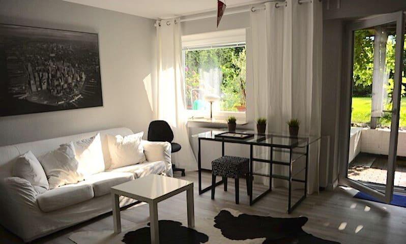 Schöner wohnen  mit eigener Terrasse und Garten