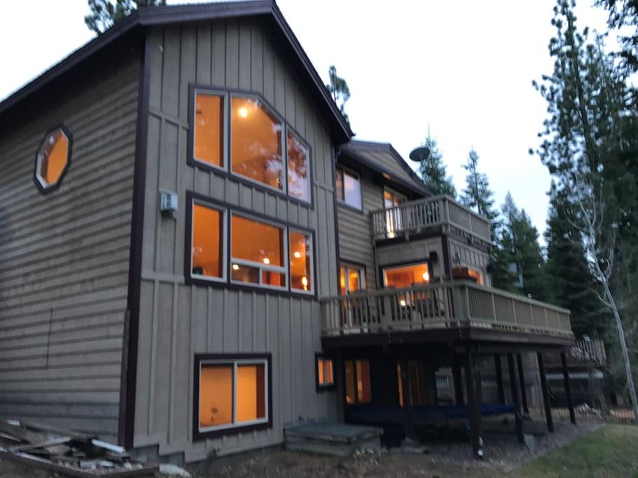 Back of house 3 floors