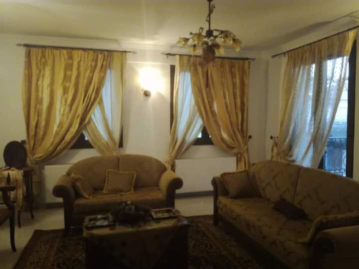 Luxurious apartment 130sq.m (wifi,parking)