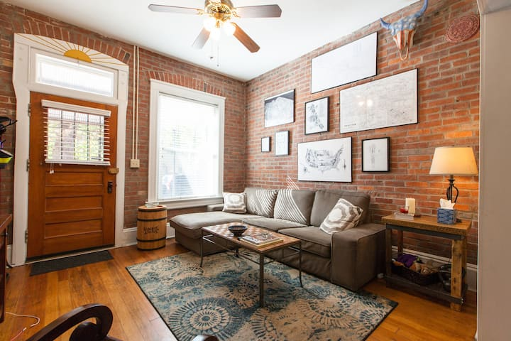 Rustic Rowhome in the heart of LoHi