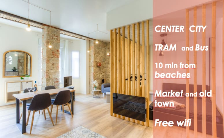 CITY CENTER APARTMENT &  TRAM BUS