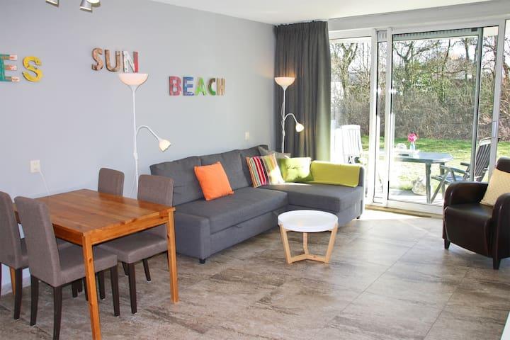 Modern appartement op loopafstand van het strand!