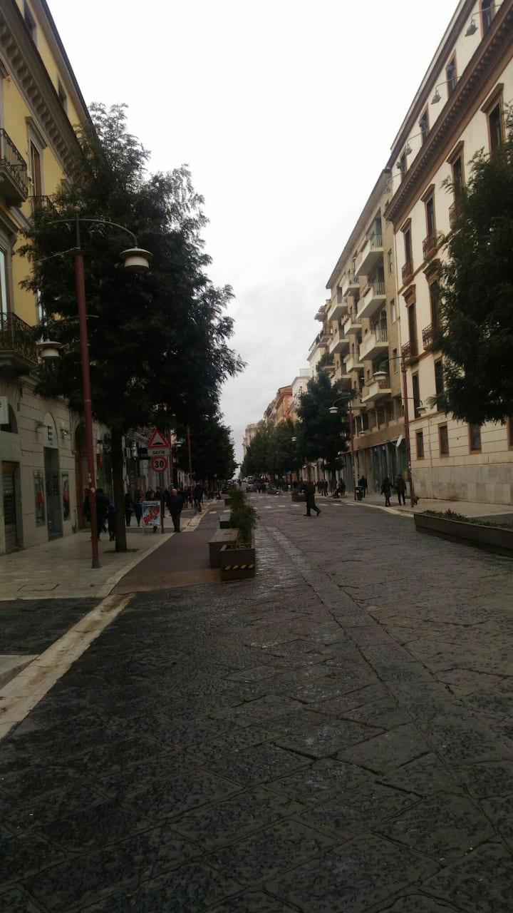 Centro città  Corso principale