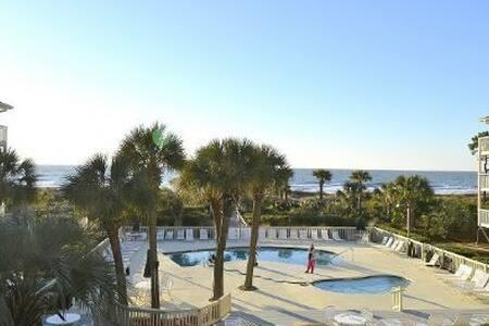 Oceanfront Villa on North Forest Beach! - Hilton Head Island