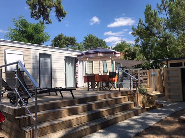 Mobilhome récent hors camping !