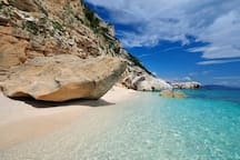 Baunei. Cala Mariolu - reachable by boat or trekking