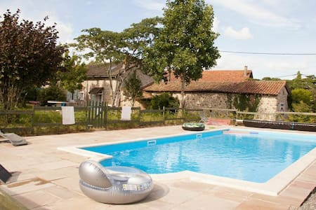 Beautiful Farmhouse, with Pool - Maisonnais - Rumah