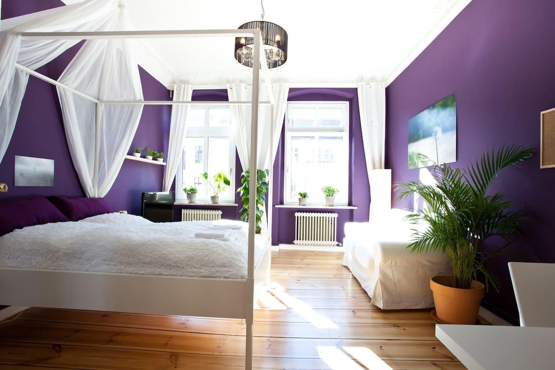 stylishly furnished, central