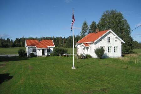 Idyllisk og romantisk gård til leie - Strømsfoss - 樹屋