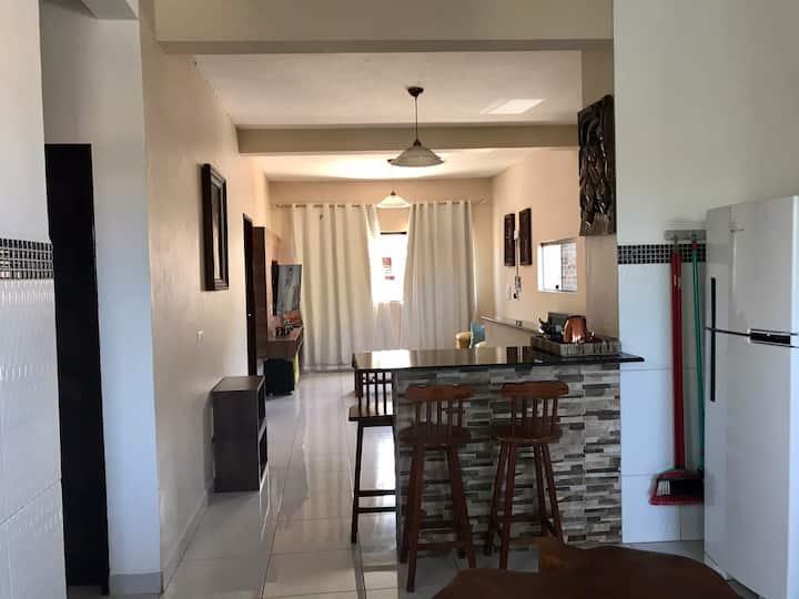 Apartamento Flor do Caribe- 1 andar para 4 pessoas