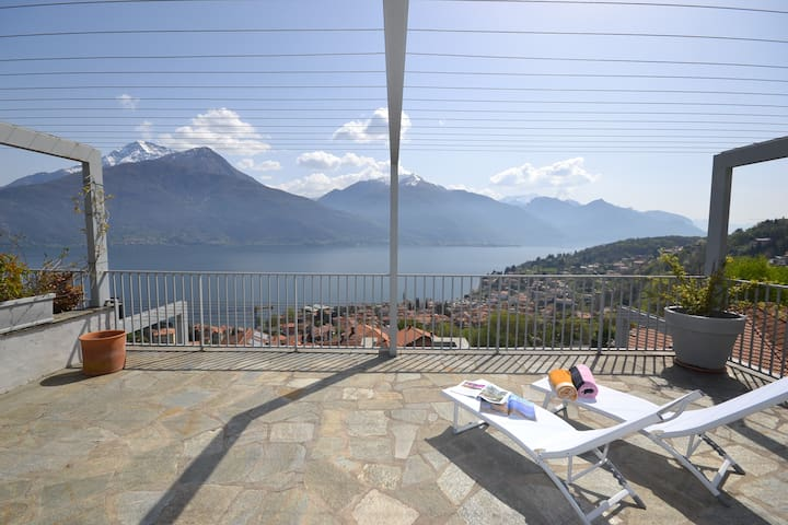 ORCHIDEA with pool and amazing view - Calozzo - Apartment