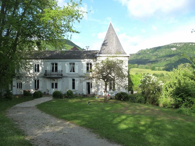 Charming Manor  B&B in Jura - Nans-sous-Sainte-Anne - Wikt i opierunek