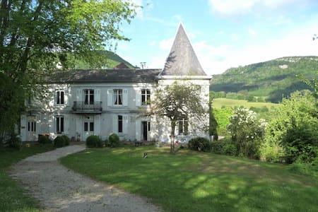 Charming Manor  B&B in Jura - Nans-sous-Sainte-Anne - Wikt i opierunek