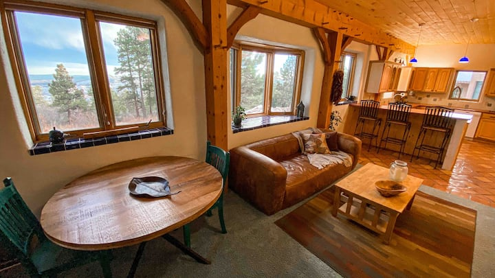 Eco-Friendly Guest House on 40 Acres Above Durango