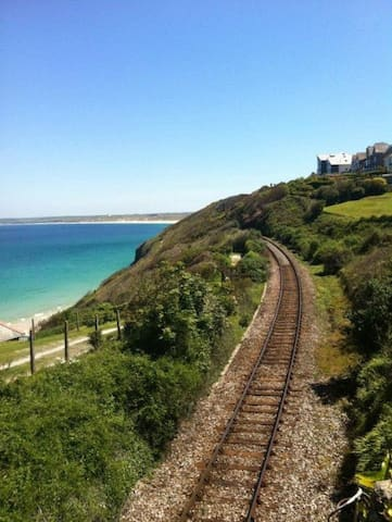 The railway to St Ives