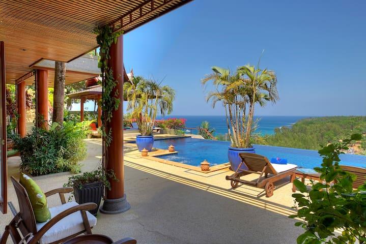 Thai Luxury Phuket Villa Seaview - Phuket, Cherng Talay, Thailand - Villa