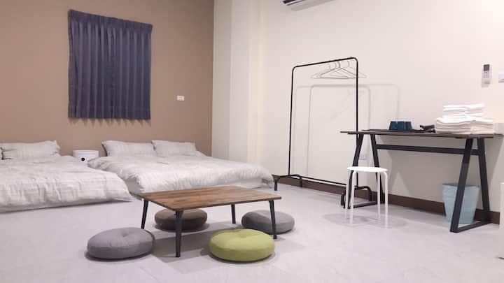 室樓(O) 四人房 簡約風