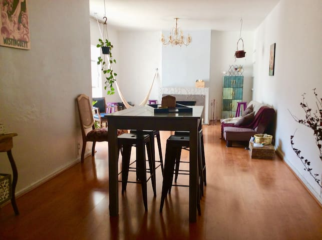Spacious room in shared apartment.