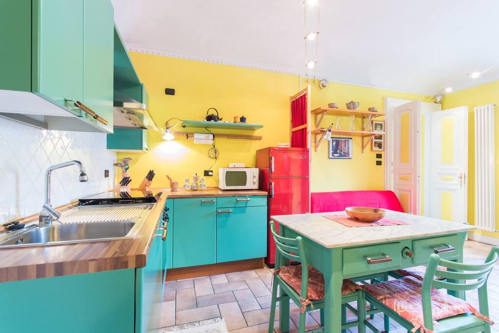 Torino splendida casa a porta susa appartamenti in - Orari treni milano torino porta susa ...