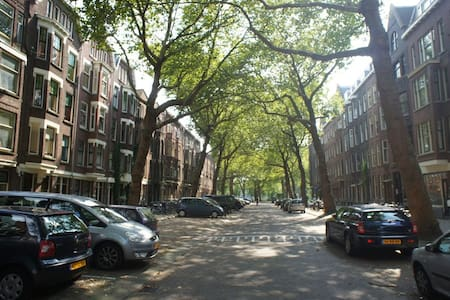 Spacious room in stunning street - Rotterdam