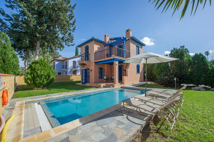 Villa DEMETRA with private pool on the beach