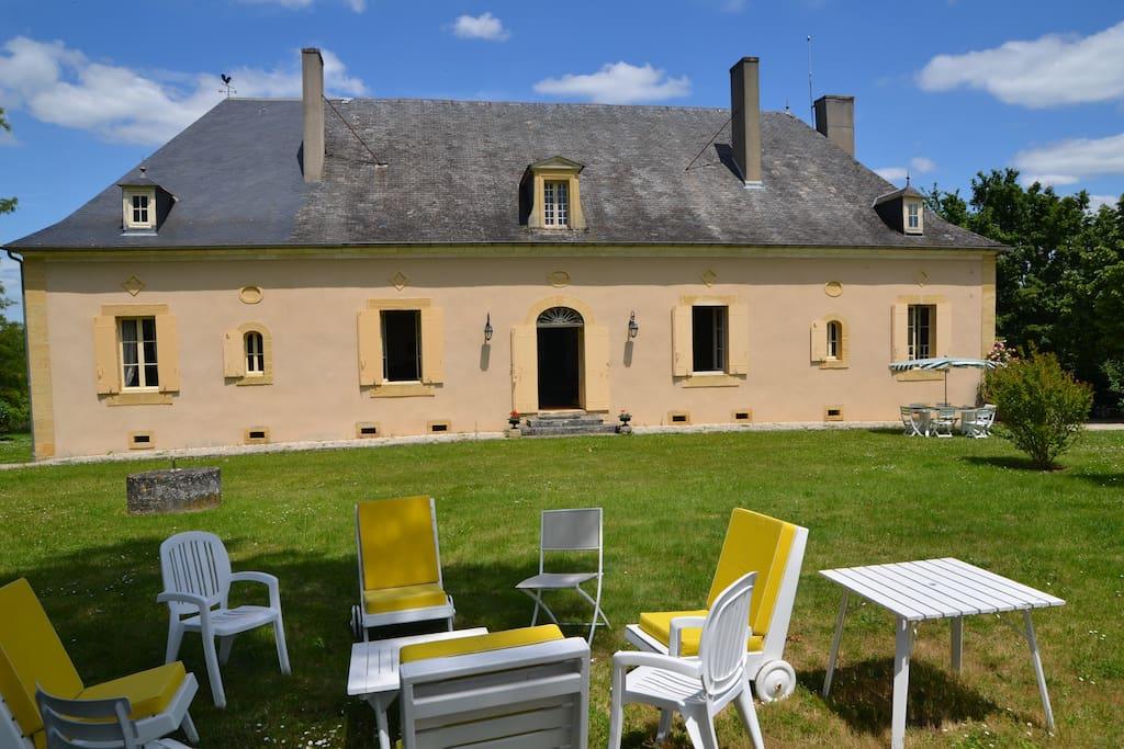 Belle demeure familliale casas en alquiler en saint agne aquitania francia - Casas de alquiler en francia ...