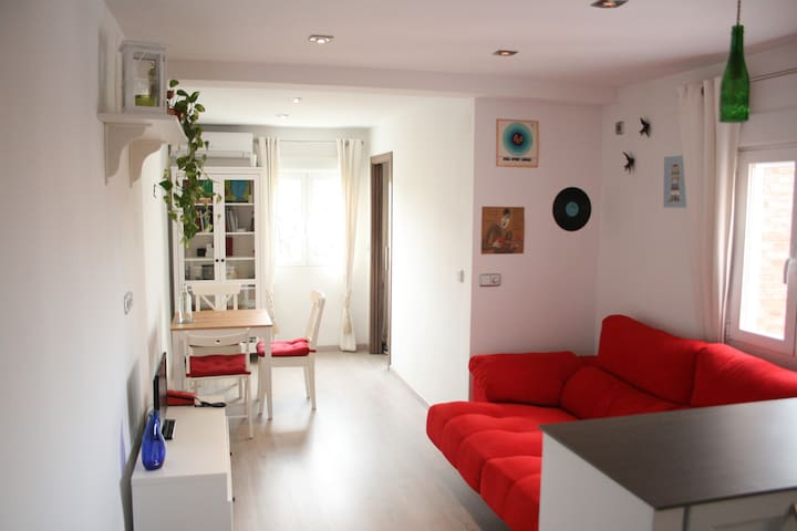 Cozy well connected apartment in Plaza Elíptica - Madrid - Huoneisto
