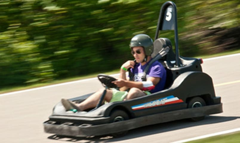 Wasaga 500 Stay and Play  5 Go kart laps included